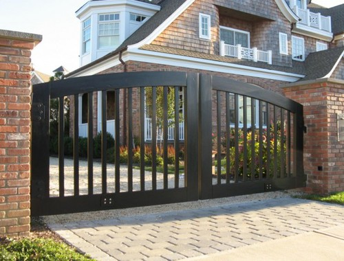 Metal Side Gates in Bickershaw Greater Manchester England